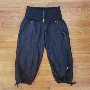 ADIDAS baggy woman's Track pants capri Foldover S